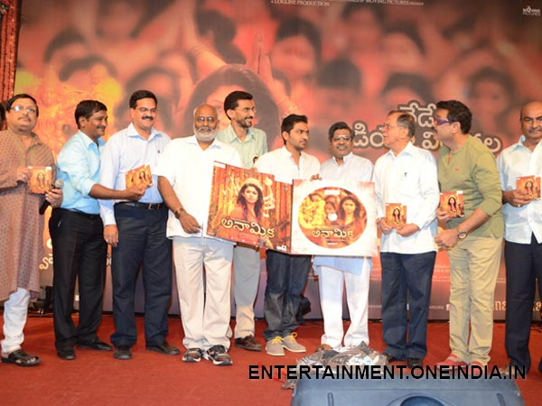 Celebs Posing With Anamika Music CDs