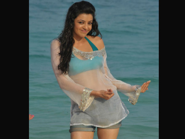Kajal Aggarwal Swimsuit Picture