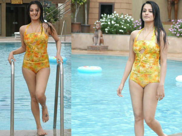 Anitha Swimsuit Picture