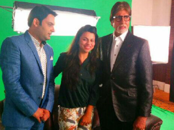 Preeti, Kapil With Big B