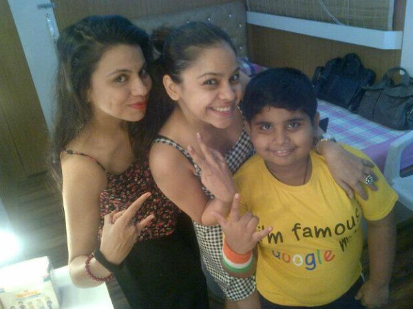Preeti With Mrs Bittu And Akshat Singh
