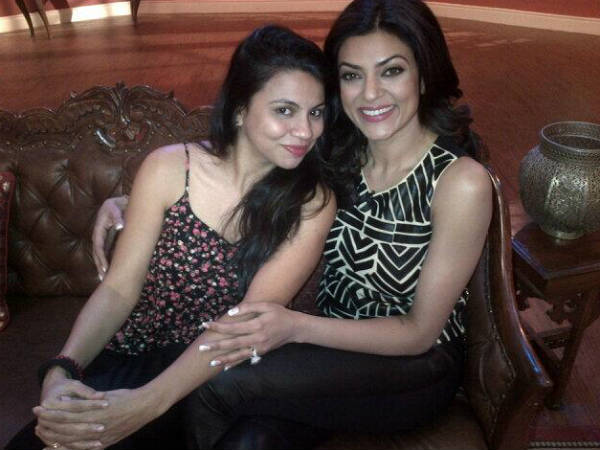 Preeti With Sushmita