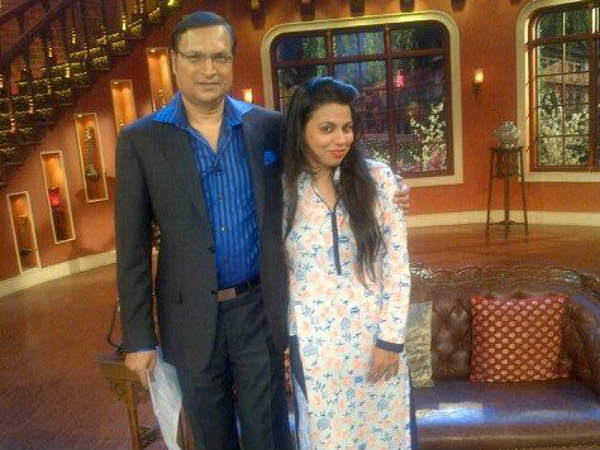 Preeti With Rajat Sharma