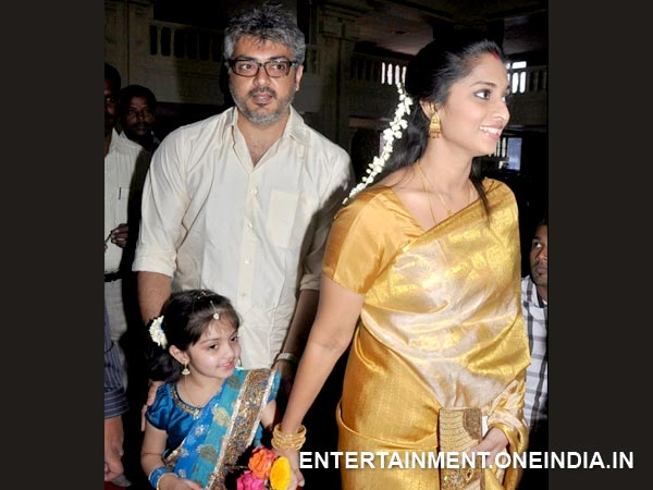Rare And Unseen Picture Of Ajith-Shalini – Photo 16