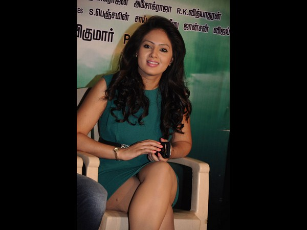 Nikesha Patel In The Press Meet