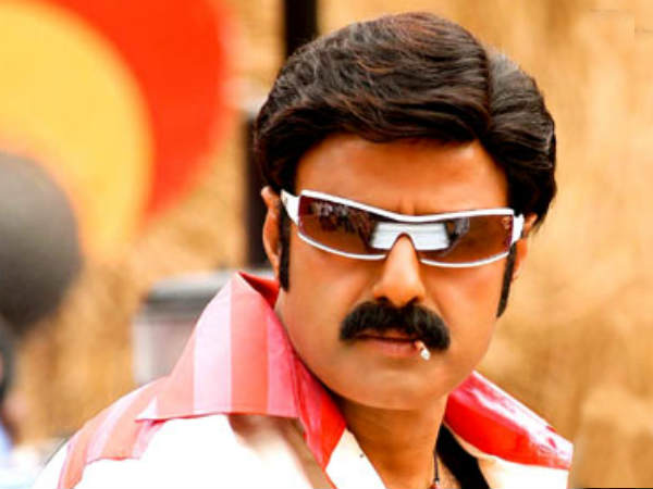 Balakrishna Smoking On Screen