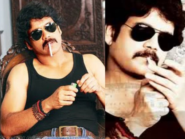Nagarjuna Smoking On Screen