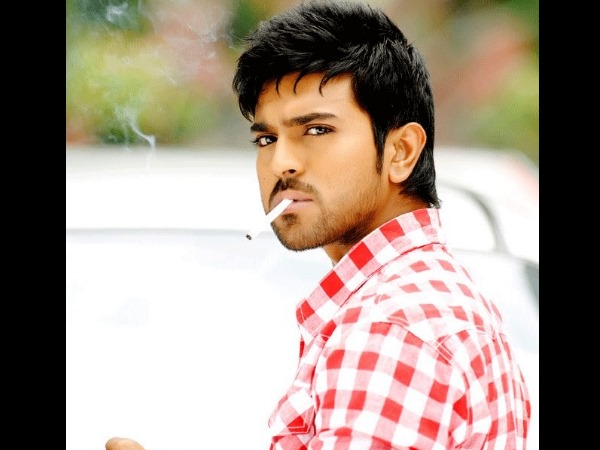 Ram Charan Teja Smoking On Screen