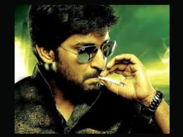 Nani Smoking On Screen
