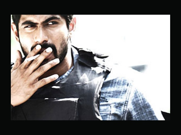 Rana Daggubati Smoking On Screen