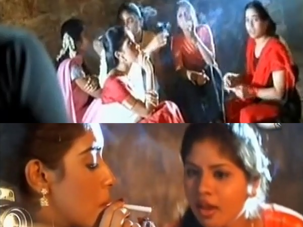 Asin Smoking On Screen