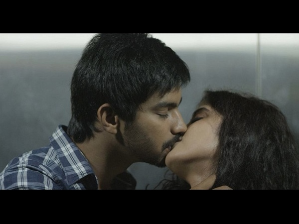 Photo: Mahat Raghavendra-Piaa Bajpai's Smooch Scene