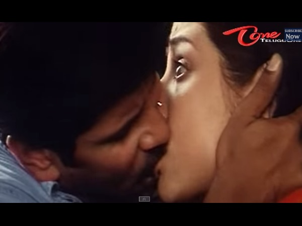 Photo: Vikram Locks Lips With Priyanka Trivedi
