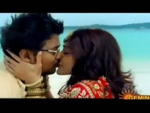 Photo: Vijay Kisses Ileana