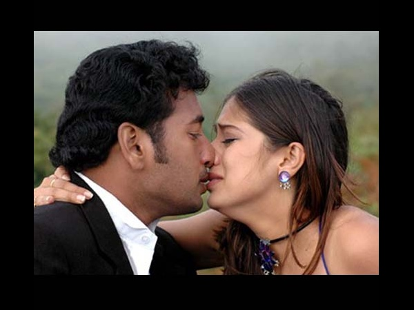 Photo: Lakshmi Rai's Hot Lip-Lock With Gemini