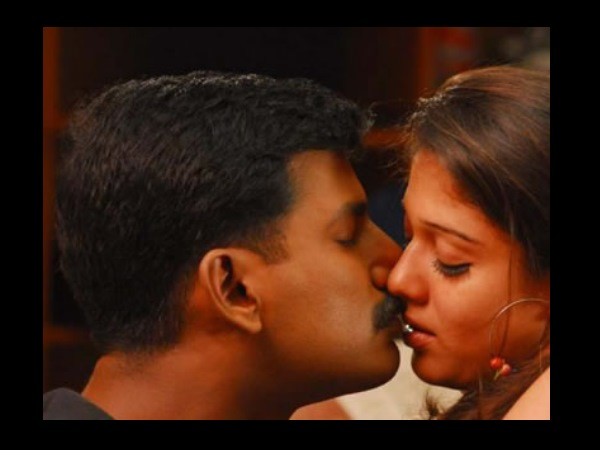 Photo: Nayantara's Kiss Scene With Vishal