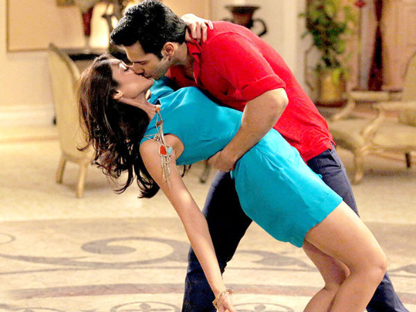 Photo: Ileana's Kiss Scene With Varun Dhawan
