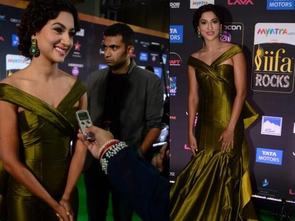 IIFA Rocks 2014 Live: Gauhar Khan Arrives