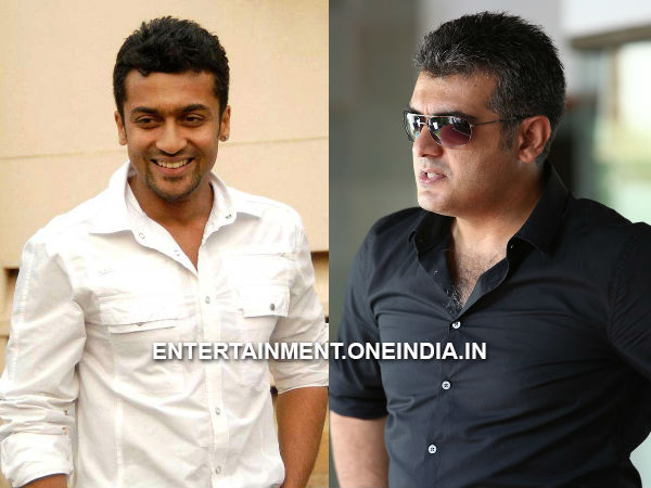 Surya's Treat For Ajith's Special Day