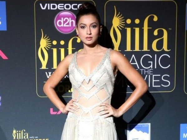 Gauhar Khan At IIFA Awards 2014