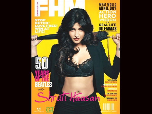 Shruti Hassan - FHM Feb 2014