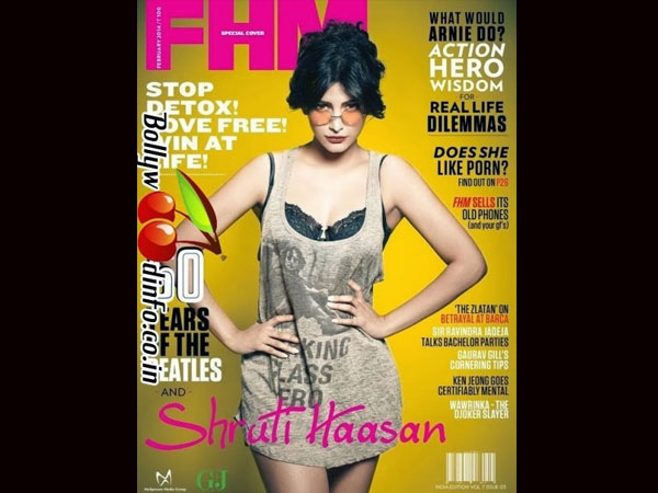 Shruti Hassan - FMH Sep 2013