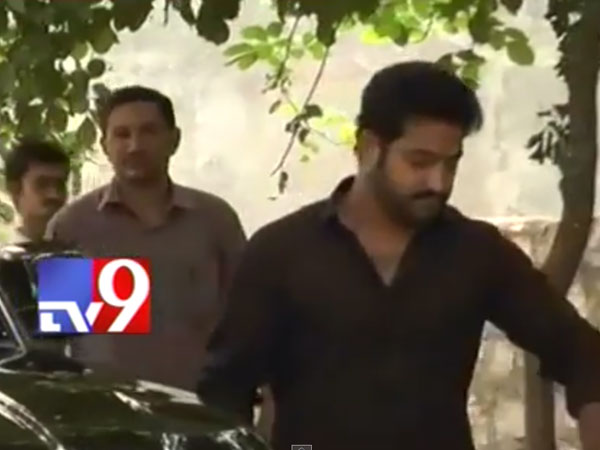 Junior NTR Heading To Cast Vote