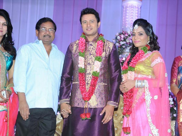 B Gopal At Raja Abel Wedding Reception