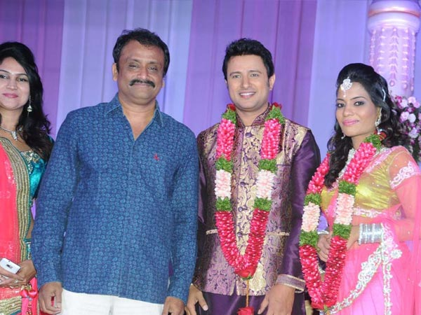 G Neelakanta Reddy At Raja Abel Wedding Reception