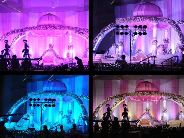 Grand Arrangement For Raja Abel Wedding Reception