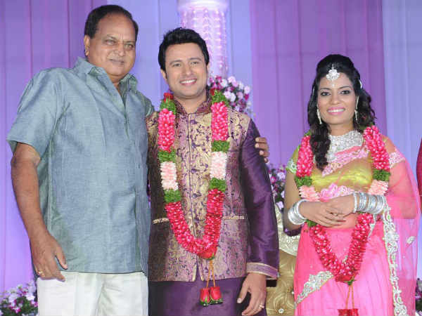 Chalapathi Rao At Raja Abel Wedding Reception