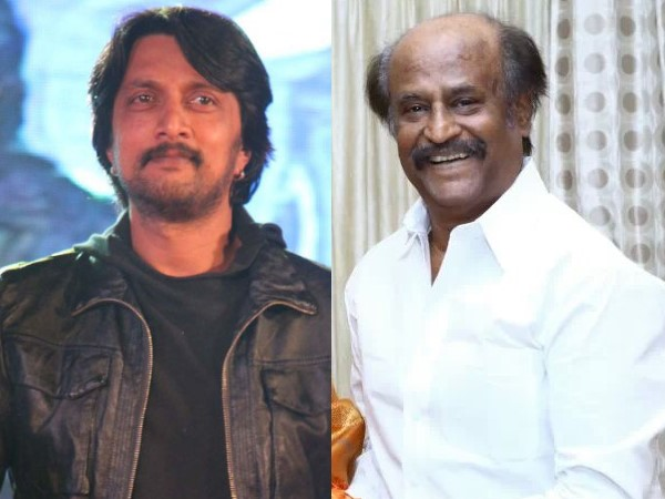 Rajini Sir Is Too Huge And I Don't Know How To Do It: Sudeep