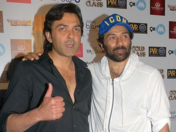 Sunny Deol and Bobby Deol