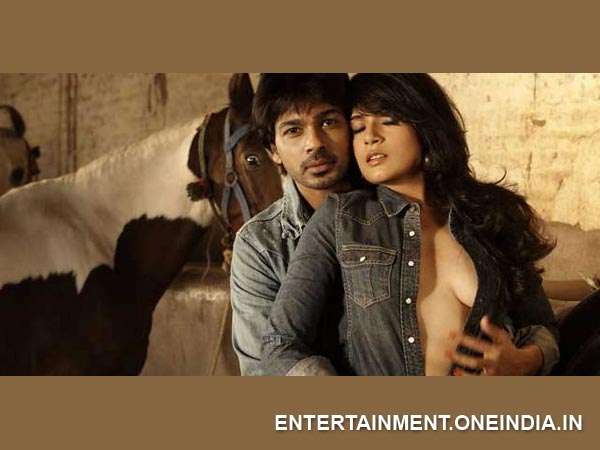 Nikhil Dwivedi and Richa Chadda in Tamanchey