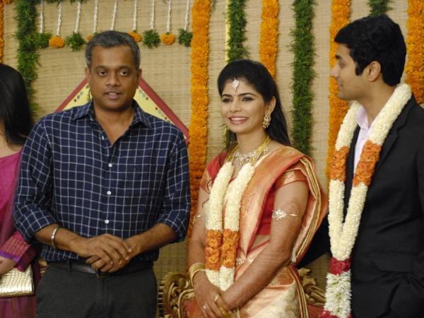 Chinmayi Rahul Ravindran Wedding Reception Photos