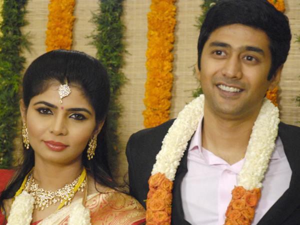 Chinmayi Rahul Ravindran Wedding Reception Pic