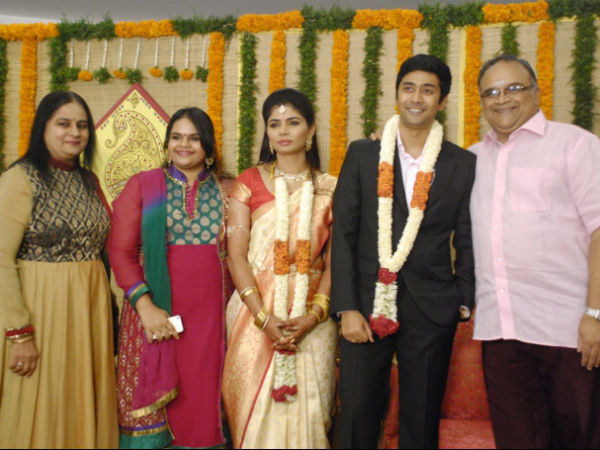 Pic: Celebrity Guests At Chinmayi and Rahul Ravindran Wedding Reception