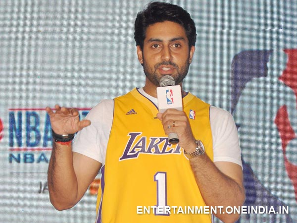 Abhishek Bachchan Speaking At The Event
