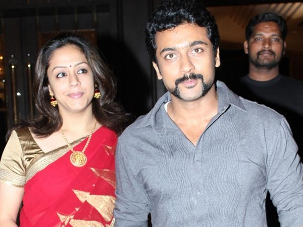 Surya-Jyothika Off To US