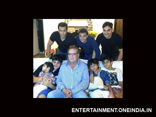 Salman And Family