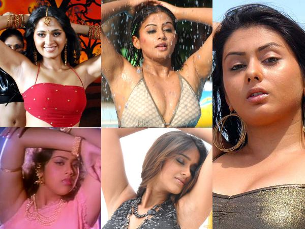 The Hottest Armpits Of South Actresses - Filmibeat