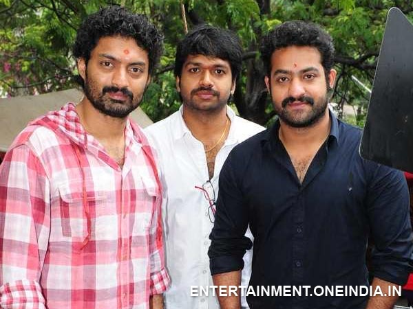 NTR Poses With Kalyan Ram, Anil Ravipudi At Pataas Launch