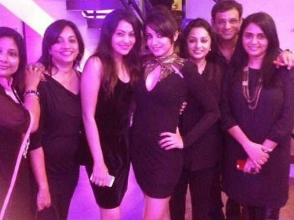 Trisha With Her Guests