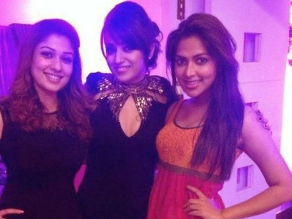 Nayantara, Trisha With Amala Paul