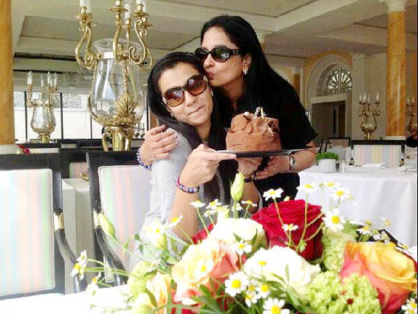 Trisha With Her Mom Uma