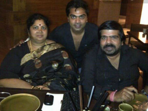 Simbu With His Father And Mother
