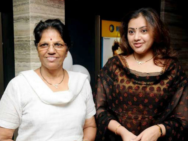Meena With Her Mom Raj Mallika