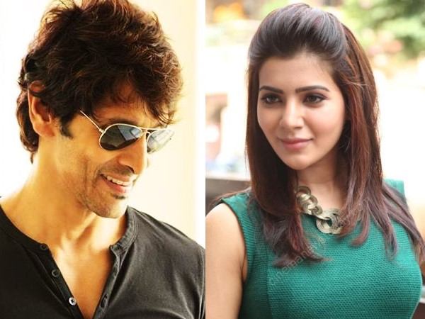 Vikram-Samantha's Movie Ready To Take Off
