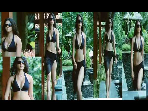 Anushka Shetty Dons Swimsuit