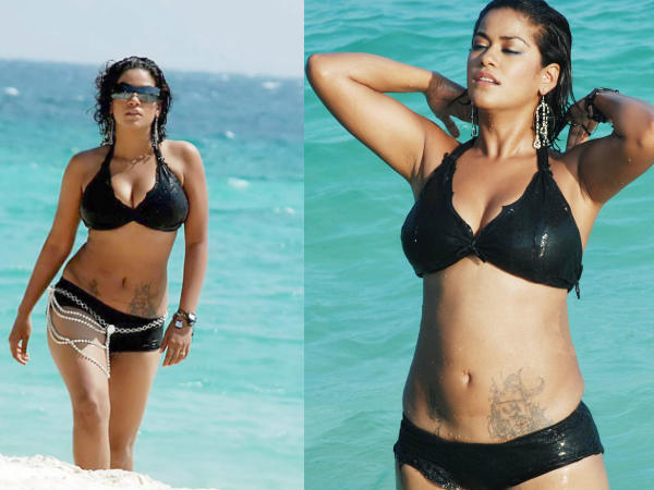 Item Gal Mumaith Khan In Bikini